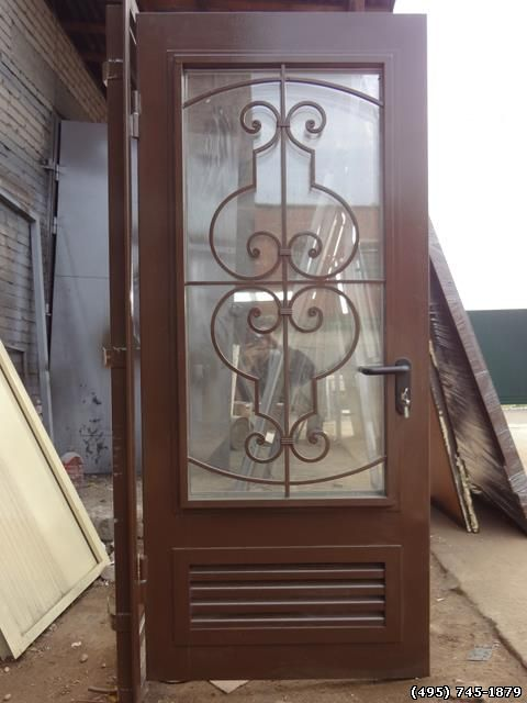 входная дверь в бойлерную
