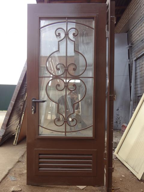 металлические входные двери для бойлерной